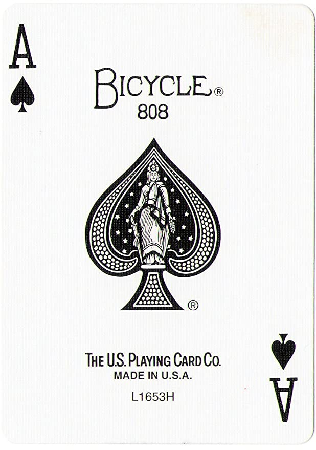 Amazoncom Bicycle Playing Card Force Deck Blue Back Sports Outdoors