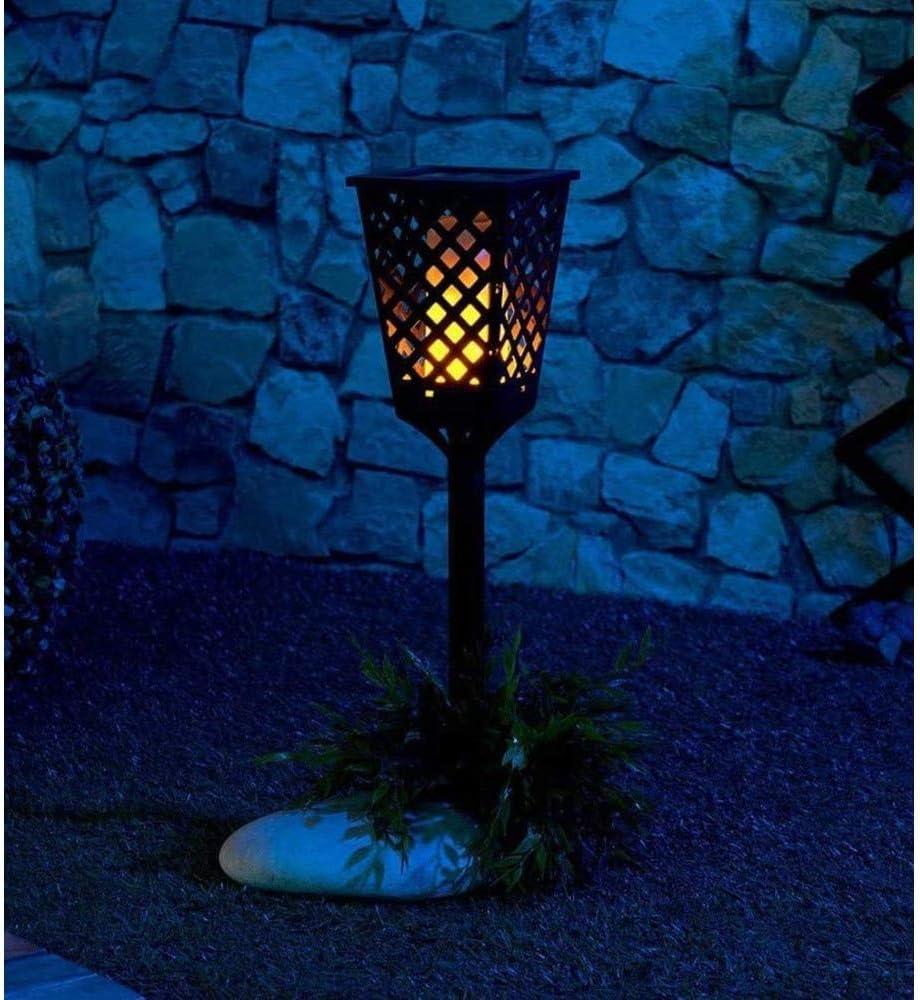 HENGX Solar Fackel Lichter Garden,LED IP65 Wasserdicht Wegeleuchten,Außen Landschafts Decorative Beleuchtung,Auto On/Off Sicherheitslicht,6Pack 8pack