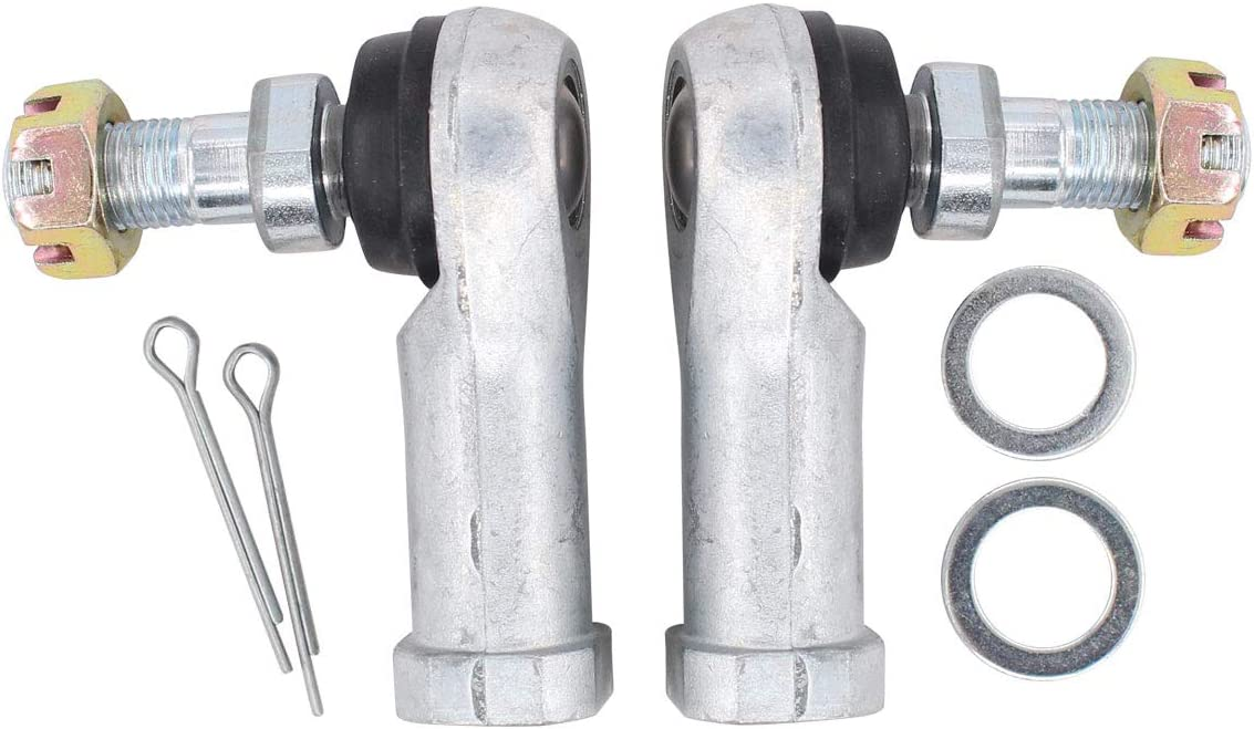 NewYall Pack of 2 Upper and Lower Tie Rod End for Honda