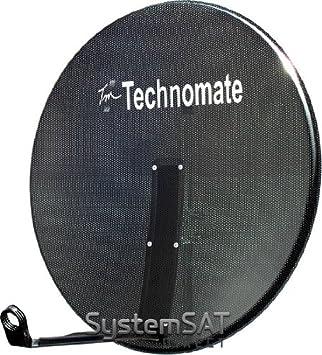 1 m de malla Technomate Hi-Ganancia antena parabólica de montaje - SystemSat