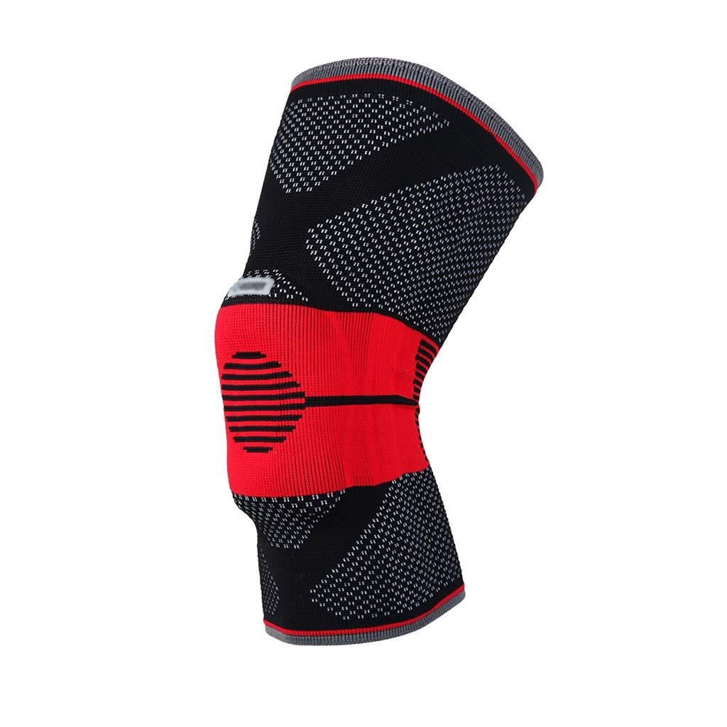 膝当て 膝パッド 通気性 メニスカス保護 ニーパッド 作業用 弾力性 膝プロテクター 衝撃吸収 靭帯保護 ひざサポーター 膝をつくお仕事にも最適 野球 シングル 自転車 ユニセックス F-55 (A)