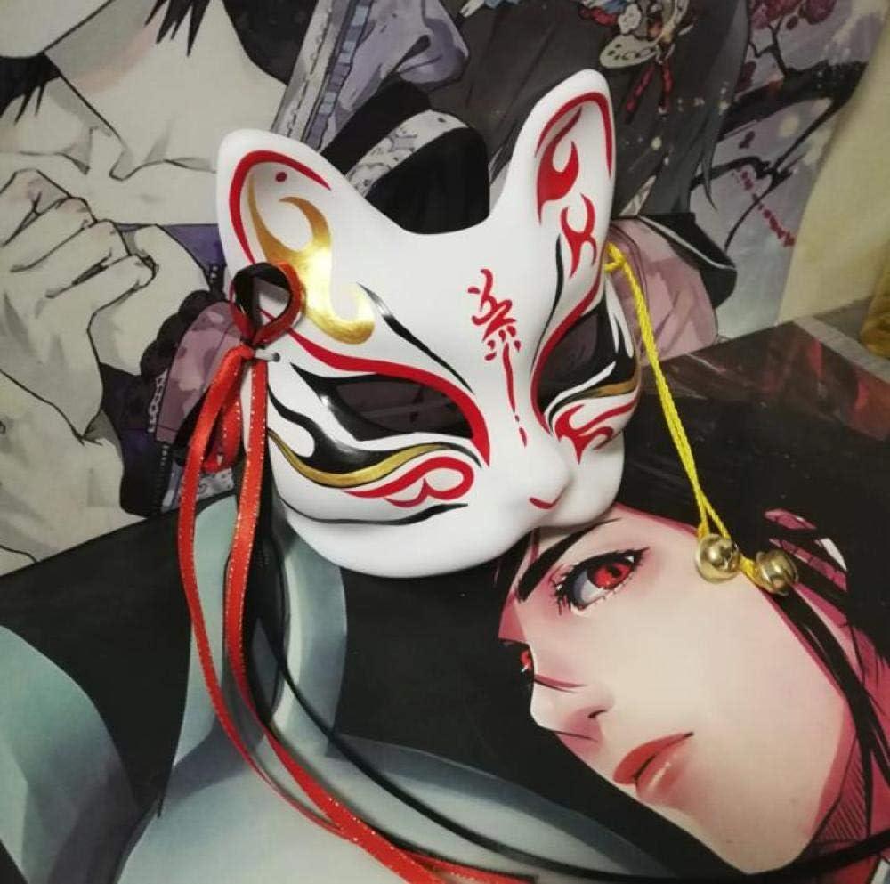 Máscara De Zorro Divertida De Halloween Máscara De Media Cara ...
