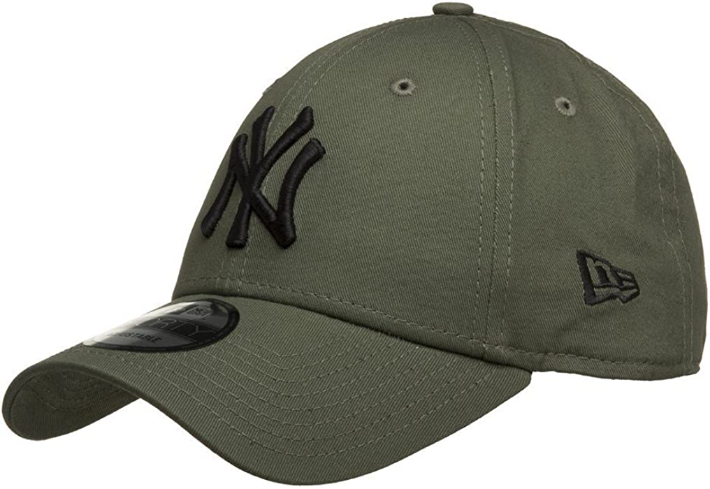 3ad61313a4c6c 9forty Detroit Tigers Black. New Era Men s League Essential 9Forty New York  Yankees Cap