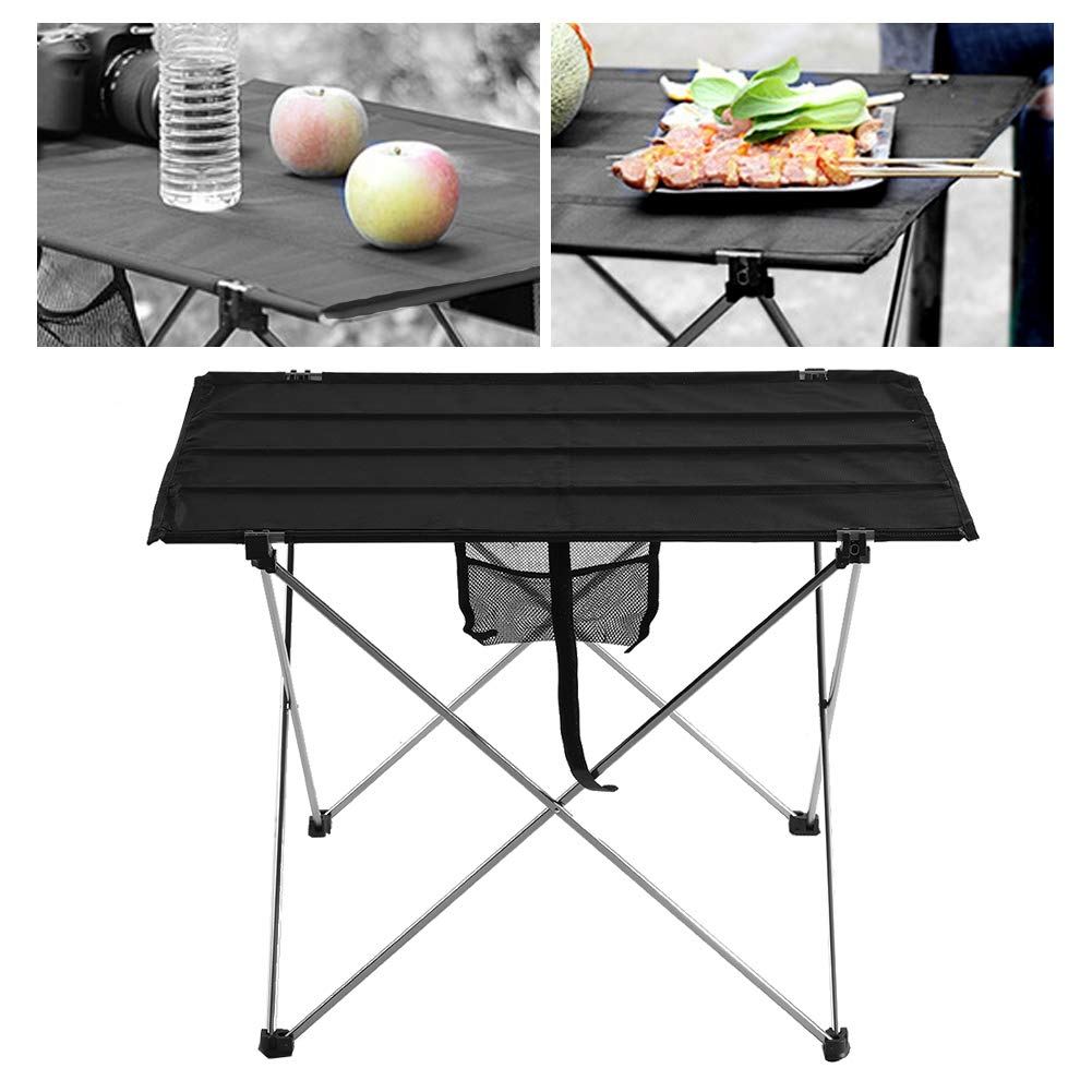 Simlug Picnic Table Portable Folding Cloth Desktop for BBQ Grill Outdoor Camping (S) by Simlug