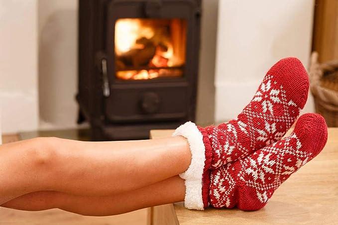 Conditionnement Multiple Hommes Hiver Noël Chaussettes Épais Solide Chaud matériau souple HB292
