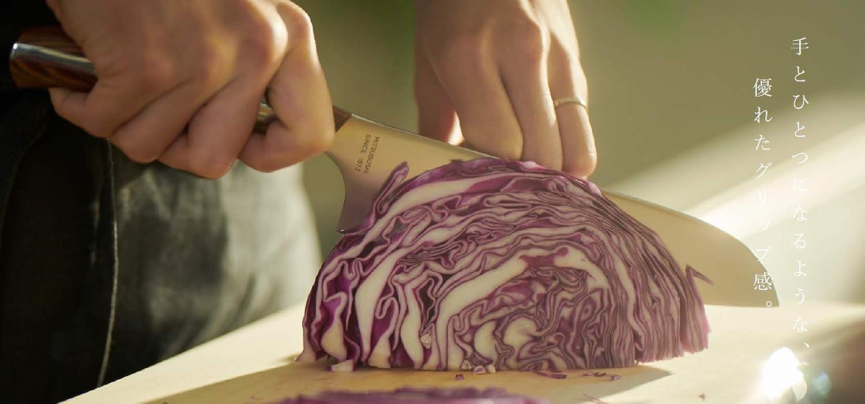 三徳包丁【和 NAGOMI】『肉 魚 野菜用 刃渡り180mm』「明治6年創業 三星刃物」高品質 万能包丁