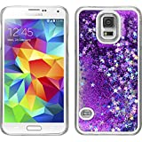 Hardcase for Samsung Galaxy S5 Neo - Stardust purple - Cover PhoneNatic + protective foils