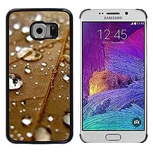 Smartphone Rígido Protección única Imagen Carcasa Funda Tapa Skin Case Para Samsung Galaxy S6 EDGE SM-G925 Plant Nature Forrest Flower 67 / STRONG