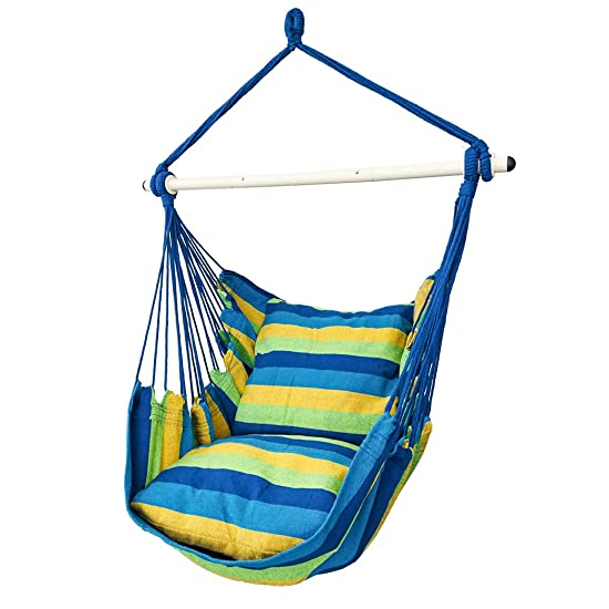 Highwild Hanging Rope Hammock Chair Swing Seat