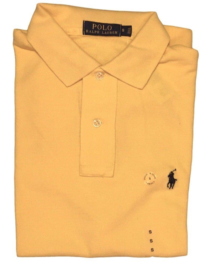 Polo Ralph Lauren Classic Fit Mesh Polo Shirt Fall Yellow (Medium) at  Amazon Men\u0027s Clothing store:
