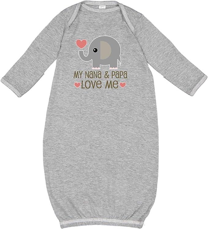 inktastic Grandparents Day I Love My Nana Long Sleeve Creeper