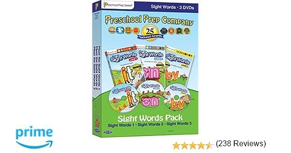 Amazon.com: Preschool Prep Series: Sight Words Pack (Meet the ...