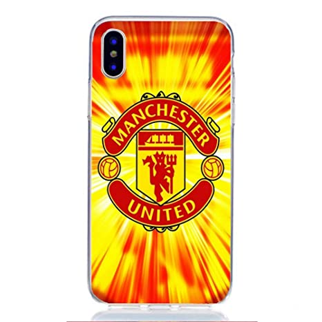 manchester united coque iphone x
