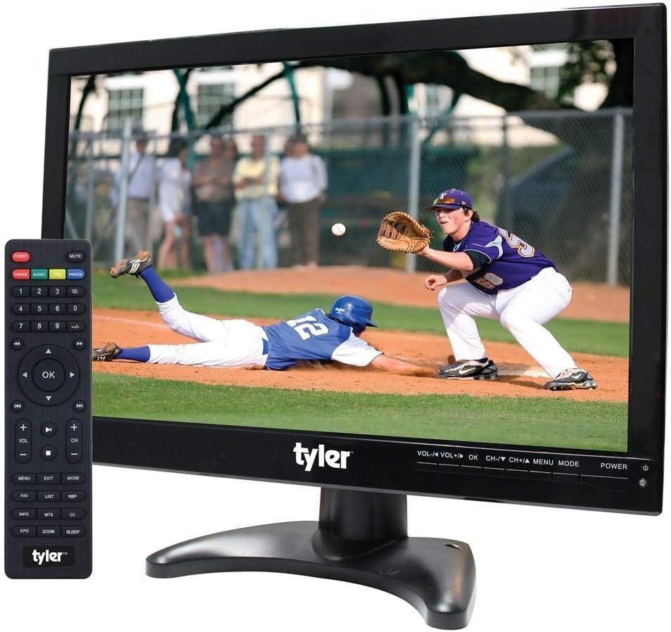 Tyler TTV705-14 Televisión portátil de 14 Pulgadas con batería LCD HD TV con entradas HDMI, USB, RCA y Tarjeta SD: Amazon.es: Electrónica