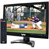 """Tyler TTV705-14 14"""" Portable Battery Powered LCD HD TV Television with HDMI, USB, RCA, and SD Card Inputs"""
