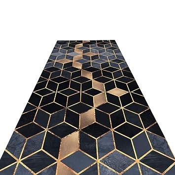 HAIPENG-alfombras pasillo Corredor Largo Entrada Antideslizante Estera De Puerta Lavable En La Lavadora Paso Formal (Color : B, Tamaño : 0.6x3m): Amazon.es: ...