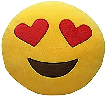 Minitrees Premium Quality Soft Heart Smiley Cushion Pillow