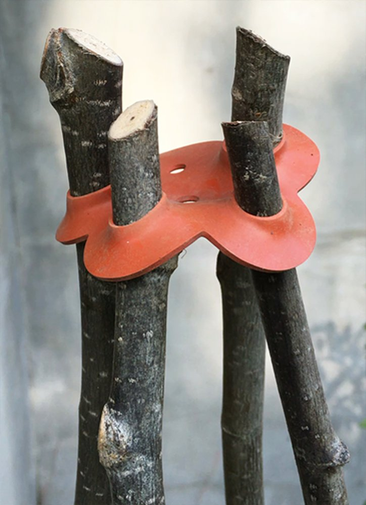 Easy Plant Support Stretch 6-HoleConncters, 8-Pack by Garden Things (Image #4)
