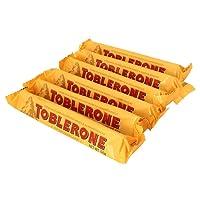 Toblerone瑞士三角牛奶巧克力50g*6条进口零食婚庆喜糖(11月25到期)