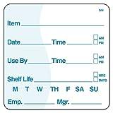 DayMark Item/Date/Use By/Shelf Life Dissolvable