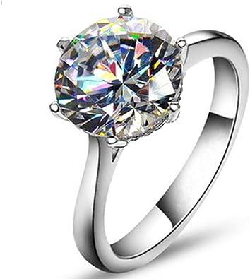 Amazon.com: Anillo de compromiso TenFit Jewelry, elegante ...