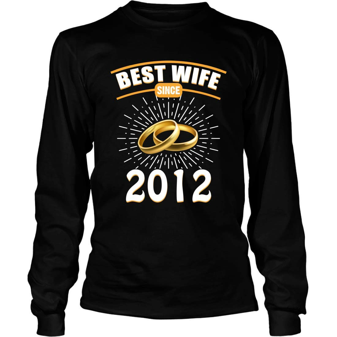 Shirts Gifts for Wedding Anniversary 21 Mishozi Best Wife Since 1997 Long Sleeve T-Shirt Unisex