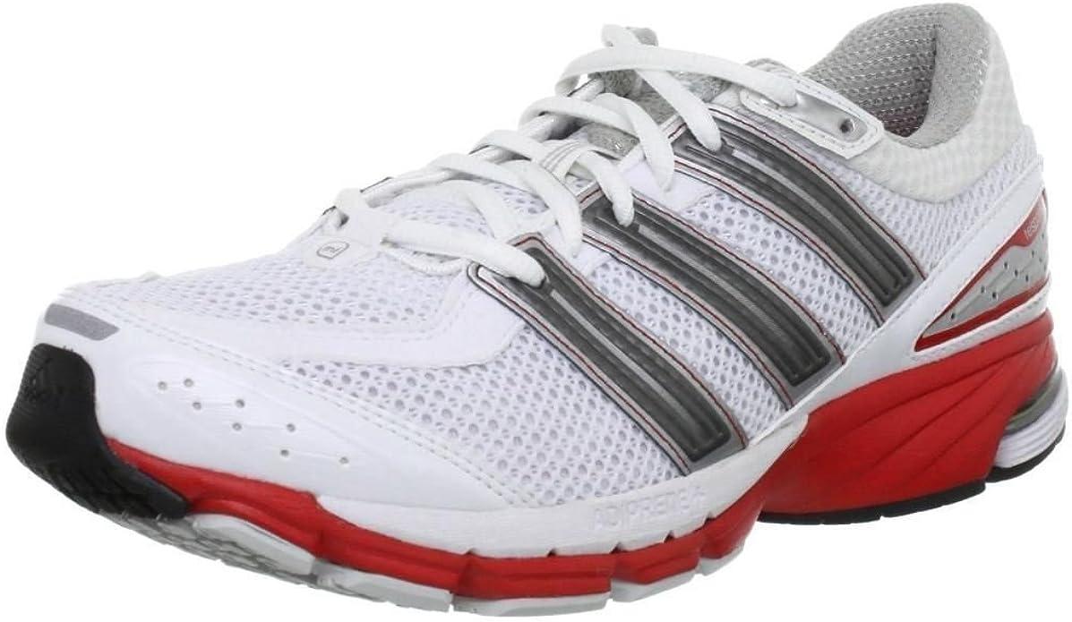 Adidas resp cush 21m - Zapatillas de running de sintético para hombre blanco blanco/rojo, color blanco, talla 40: Amazon.es: Zapatos y complementos