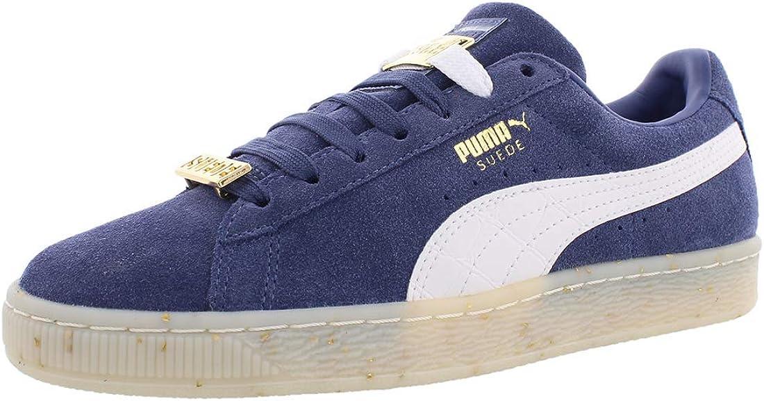 New Womens Puma Blue Suede Classic Bboy