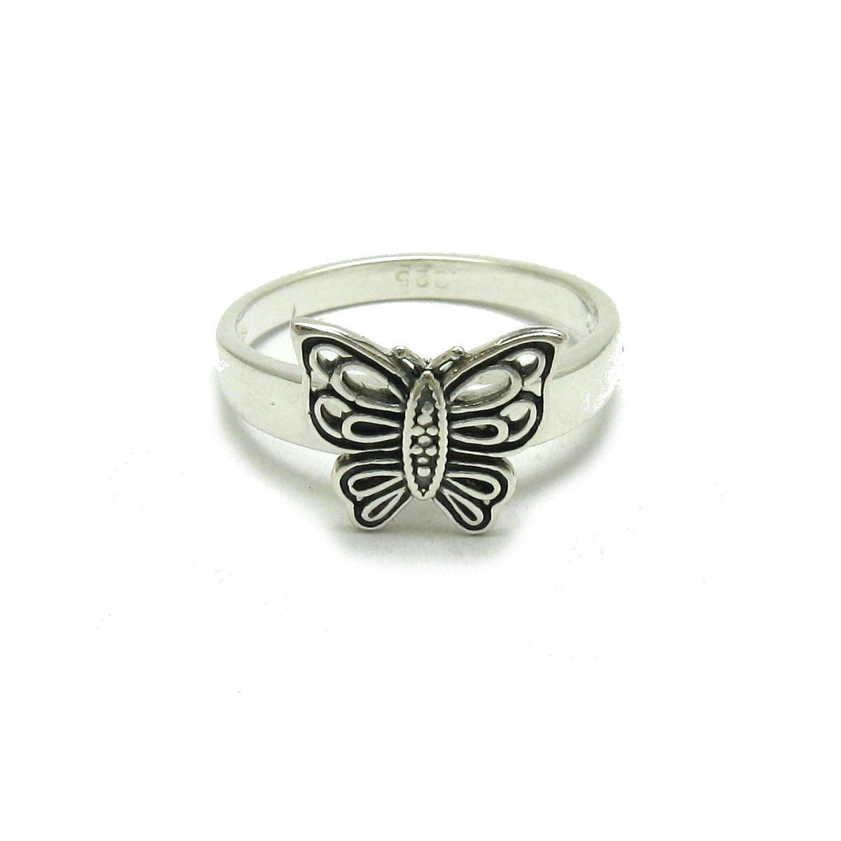 Bague en argent massif 925 Papillon R001691 Empress