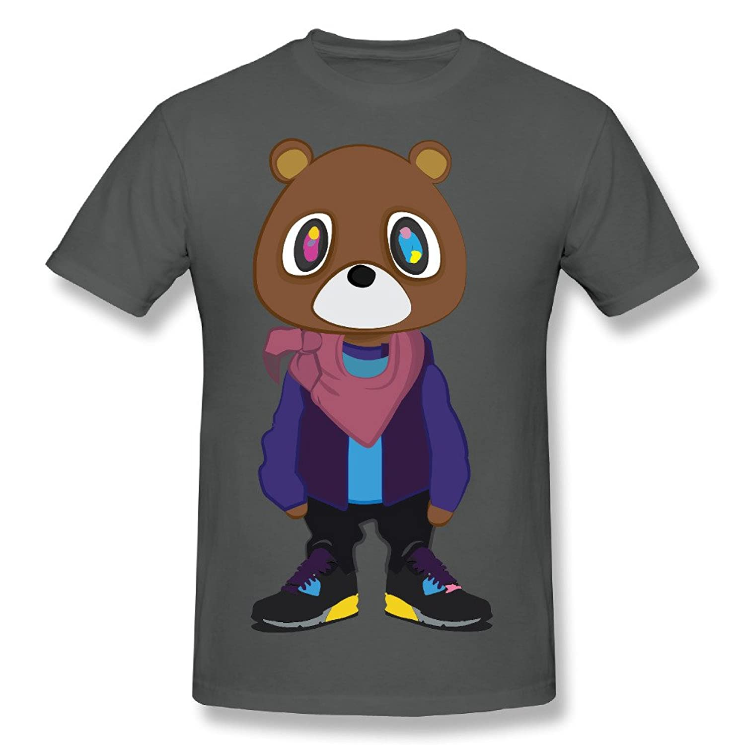 SOLOZ Kanye West Bear Dropout Bear Fashion Tshirts Short Sleeve Jersey For Mens
