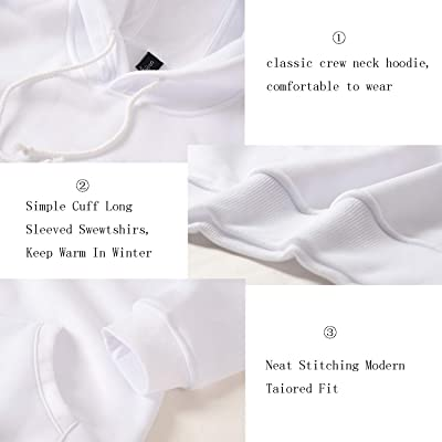 SanDish Unisex Hoodies 3D Print Pullover Hooded Sweatshirt Hoodies with Big Pockets