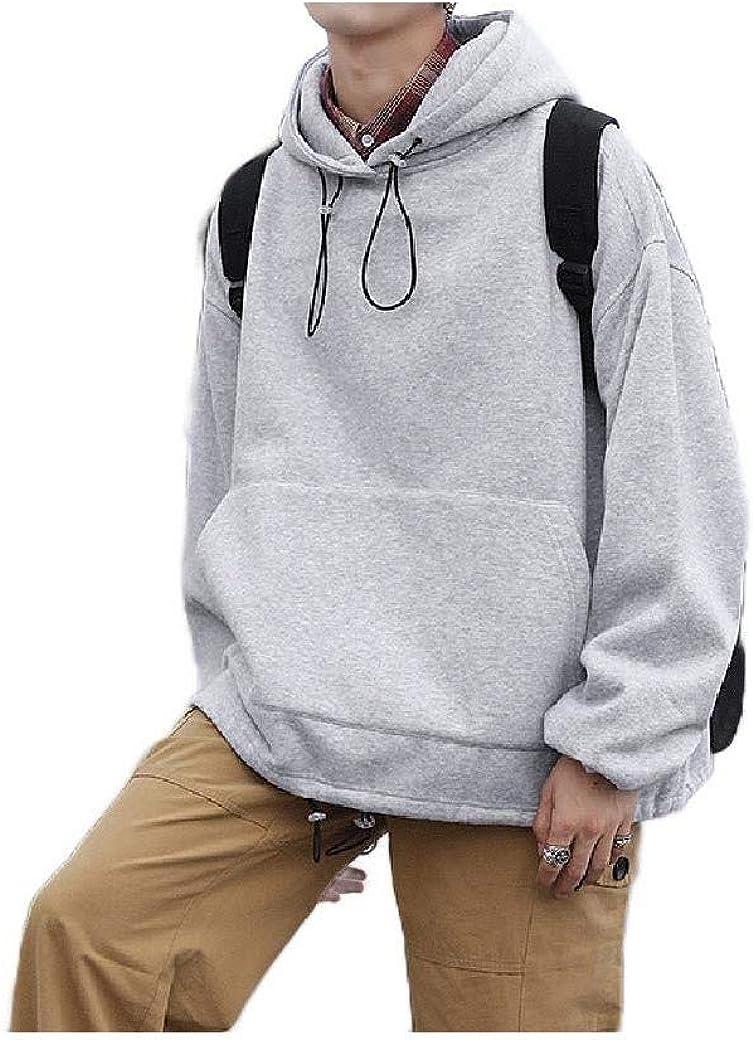HEFASDM Mens Pullover Hoodie Pocket Hoodie Fashion Hooded Sweatshirt