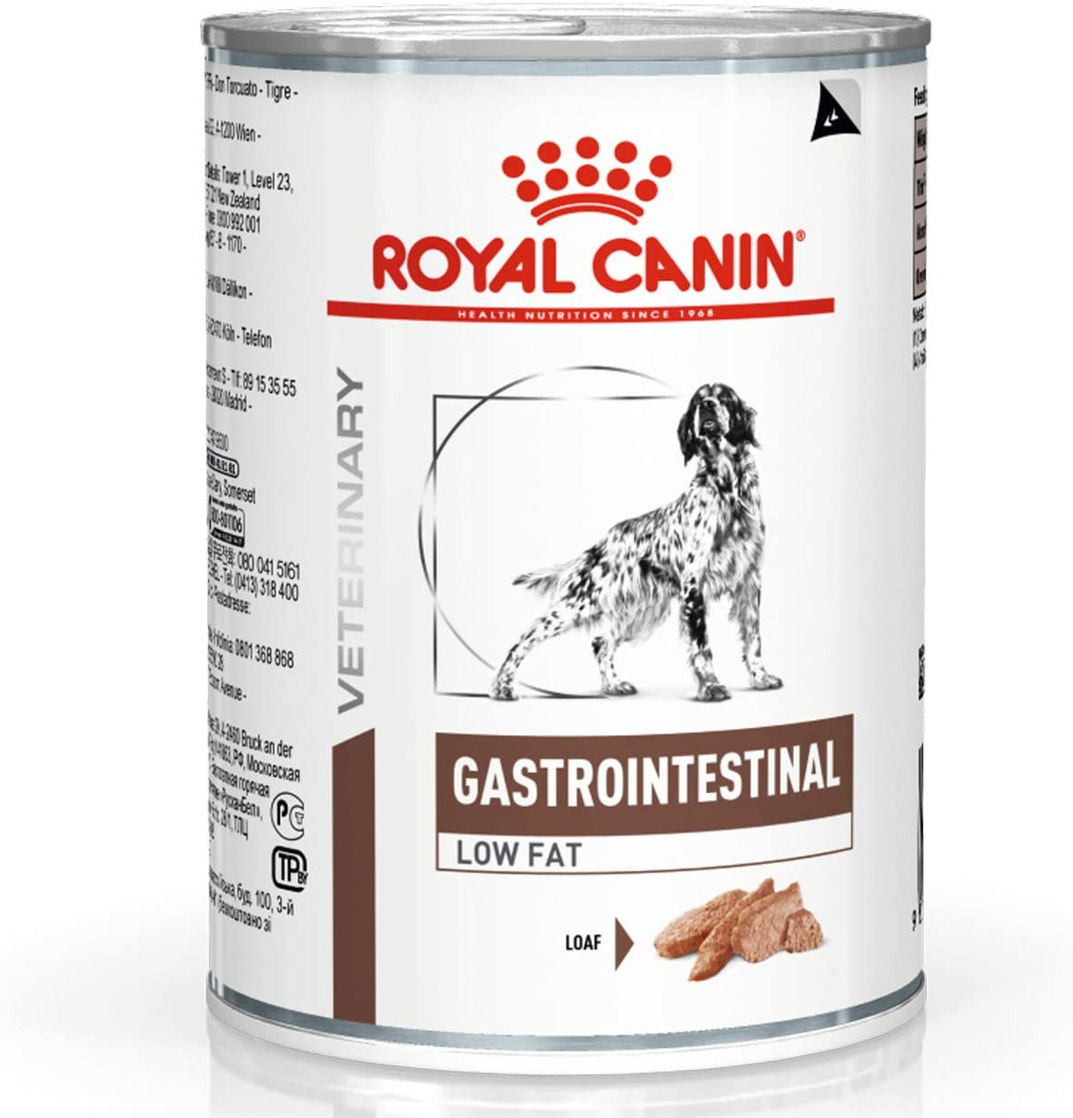 Royal Canin Canine Gastrointestinal Comida para perros baja en grasa 12 x 410g