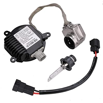 Xenon HID Headlight Ballast Headlight Control Unit with Igniter and D2S Bulb for Nissan Infiniti G35 G37 M35 M45 M37 M56 Fx35 Fx37 Fx50 Fx45 Qx56 Qx70 Nissan 350z 370z Altima Maxima Murano Rogue: Automotive