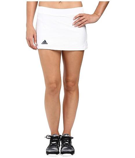 adidas Club de Tenis Falda de la Mujer - F1607W361, L, Blanco ...