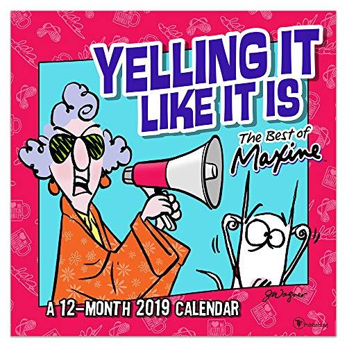 2019 Maxine by Hallmark Wall Calendar: A 12-Month 2019 Calendar (12x12 Inch Monthly Calendar)