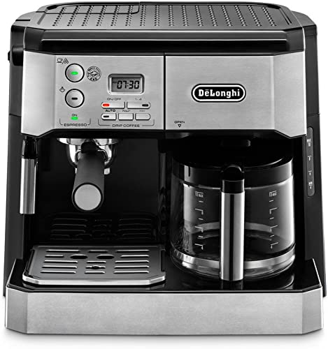 DeLonghi-BCO430-Combination-Pump-Espresso-and-10-Cup-Drip-Coffee-Machine-with-Frothing-Wand