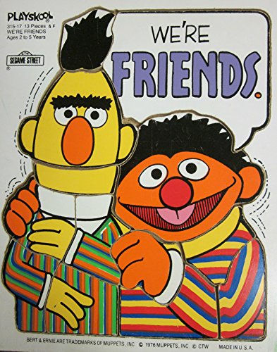 (Playskool Sesame Street Bert & Ernie