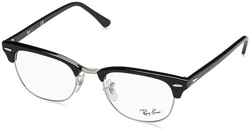 Ray-Ban RX5154 Gafas negro brillante RX5154 2000 51