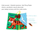 Leeotia Jungly Animal Tail Cloth Books/ Fabric