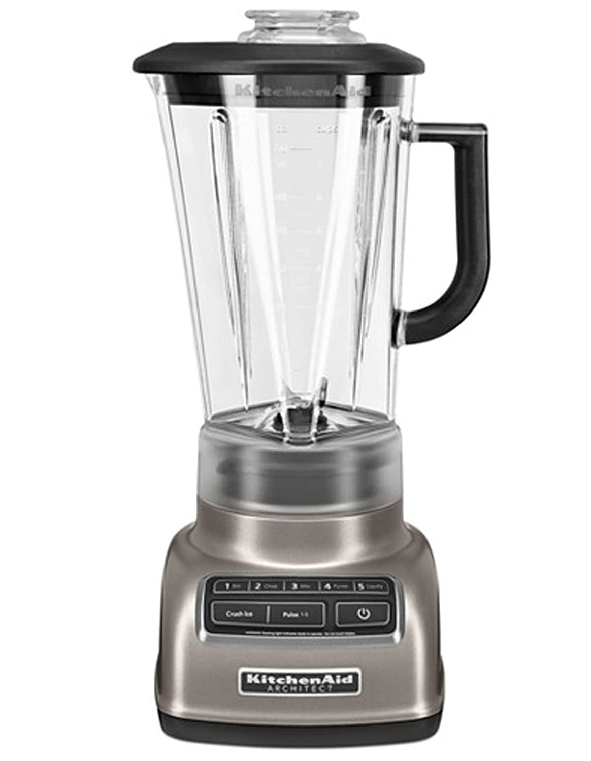 KitchenAid KSB1575ACS 5-Speed Diamond Blender with 60-Ounce BPA-Free Pitcher Architect Series, Coco Silver…