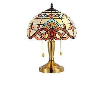 Lámpara de Tiffany estilo/Europea exclusiva y soldadura de mano de la lámpara/shell