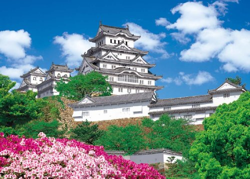 Himeji Castle 21-507 and A magnificent master 3000 Small piece of ultimate puzzle (japan import)