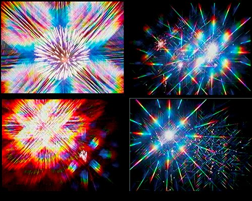 Rainbow Symphony 3D Fireworks Glasses Laser Viewers - 12 Boxes of 50 Pieces Each by Rainbow Symphony (Image #5)