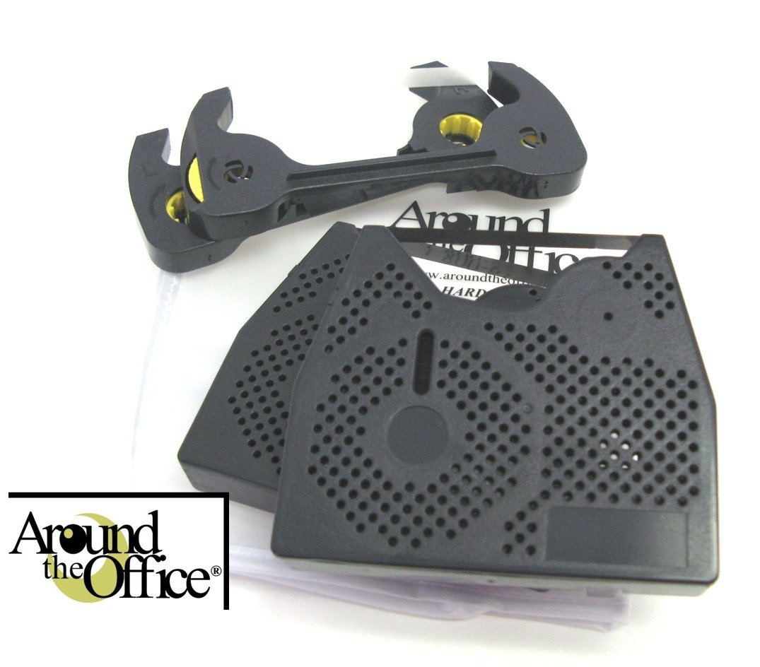 Around The Office Compatible Smith Corona Typewriter Ribbon & Correction Tape for PWP 470.This Package Includes 2 Typewriter Ribbons and 2 Lift Off Tapes by Around The Office