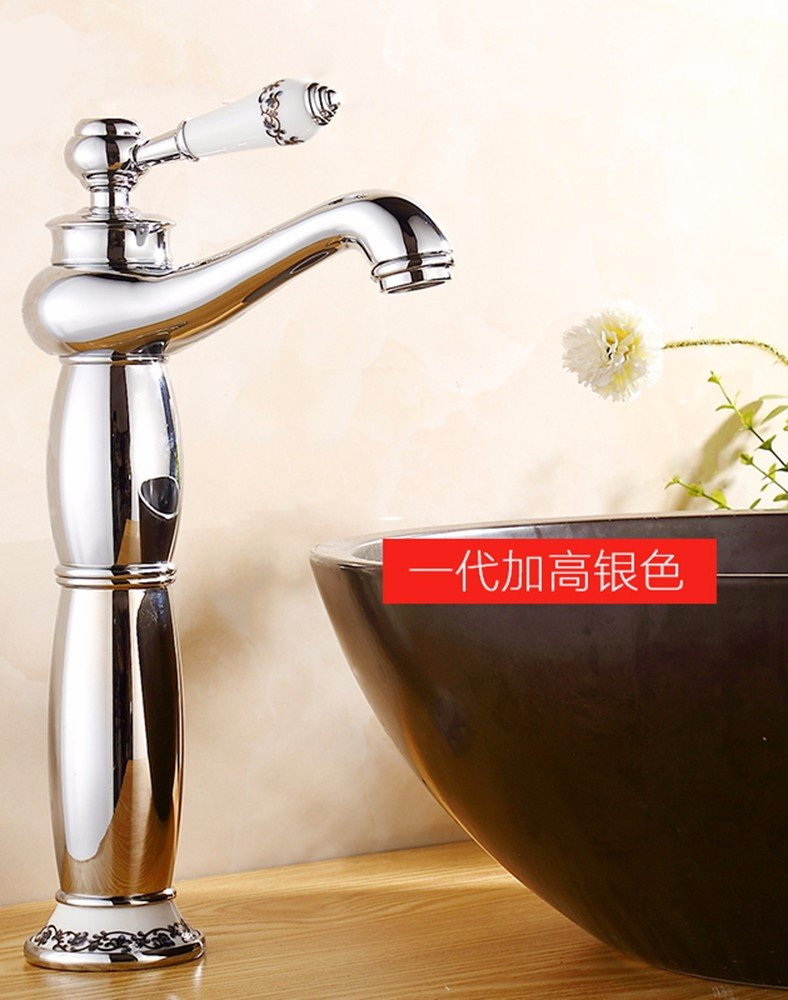 5 Hlluya Professional Sink Mixer Tap Kitchen Faucet Hot and cold, the basin, plus high, the tap 8