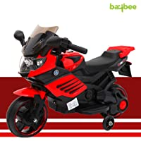 Baybee Harley Rechargeable Battery Operated Ride-on Bike and Baby Ride on/Kids Ride on Toys -Push Car for Children Kids Activity Toys Car Suitable for Boys & Girls
