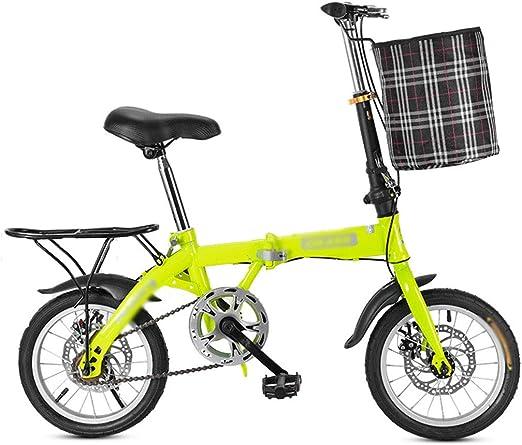Wwrb Bicicleta Plegable De Una Sola Velocidad, De 16 Pulgadas ...