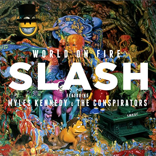 Price comparison product image World On Fire (Feat. Myles Kennedy And The Conspirators) [2 LP]