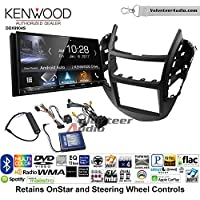 Volunteer Audio Kenwood DDX9904S Double Din Radio Install Kit with Apple CarPlay Android Auto Bluetooth Fits 2015-2016 Chevrolet Trax